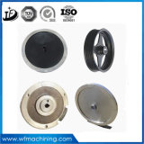 OEM CNC Usinage Flywheel Sand Casting / Ductile Iron Casting / Gris Iron Casting Higher Speed ​​Flywheel pour vélos magnétiques Fitness Training