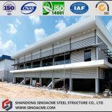 Doppio edificio per uffici della struttura d'acciaio del pavimento