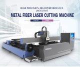 Machine de découpage de laser de fibre en métal Lm3015m3 pour des plaques et des tubes