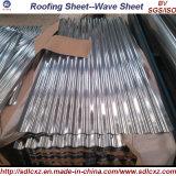 Gebäude-Metallstahldach-Fliese-Fertigung galvanisiertes gewölbtes Stahlblech