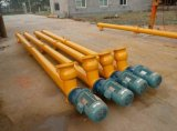 Trasportatore di vite del trasportatore di spirale del tubo dell'acciaio inossidabile di alta qualità per la spirale flessibile/sale/costruzione/l'estrazione mineraria del cemento con il prezzo poco costoso