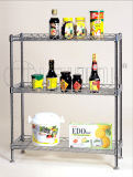 Projeto novo da cremalheira da prateleira da especiaria da cozinha do metal (CJ-C1041)