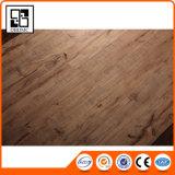 Aucune tuile en bois antidérapante de vinyle d'étage de PVC de cliquetis des graines de colle