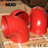 Hochdruck300psi Ductile Iron Pipe Fittings 90 Degree Elbow
