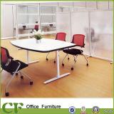 Mobília de escritório Mesa de conferência de pé de aço Mesa de reunião moderna de escritório