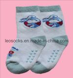 Calzini del cotone del Terry dei bambini (DL-CS-33)