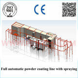Powder Coating Line에 있는 Powder Spraying를 위한 복구 System