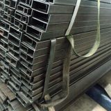 Schwarzes rechteckiges Stahlrohr en-10219