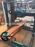 De horizontale Zaagmolens van de Machine van de Houtbewerking van het Timmerhout van de Lintzaag van de Dieselmotor