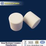 Resistente al desgaste de cerámica de alúmina medio cilindro