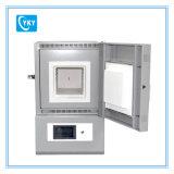 Forno a muffola a temperatura elevata di trattamento termico del laboratorio 1200c con capienza Cy-M1200-2L di 120*120*130mm