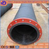 低圧の大きい直径ファブリックか下水に使用するナイロンゴム製ホース