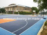 El patio trasero se divierte el suelo para la serie del oro del tenis del hockey de Futsal del baloncesto