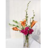 La última decoración casera con Flowers05 artificial