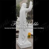 Мраморный каменной статуя Рук-Высеканная статуей скульптуры гранита Metrix Carrara Ms-1014