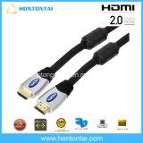 De ultra Audio videoKabel van de Hoge snelheid HDMI met de AudioSteun 4k*2k van de Terugkeer Ethernet