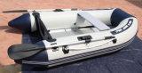barca gonfiabile di sport della barca di rematura del crogiolo di PVC di 2.3m con il Ce di alluminio del pavimento