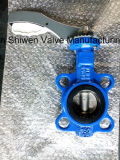 Awwa C504 Oblate-Typ Drosselventil mit Hebel