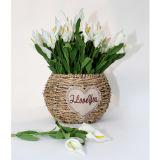 La cesta más caliente de Flowers09 artificial