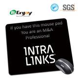 Almofada de rato de borracha relativa à promoção personalizada do retângulo