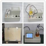 Test d'humidité d'huile isolante en différé