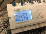 La CC 12V/24 ha gestito l'interruttore automatico di trasferimento con la visualizzazione dell'affissione a cristalli liquidi