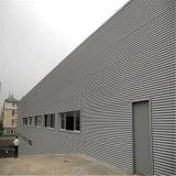 Constructions isolées préfabriquées faites sur commande de bâti en acier de mesure de lumière de construction