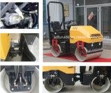 Mini rodillo de camino vibratorio compresor del rodillo de la carretera de asfalto de 2 toneladas (FYL-900)