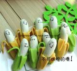 Gommes à effacer de forme de banane