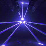 180W LEIDENE Spin die HoofdLicht met 8 Lampen van de Straal van PCs bewegen