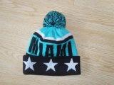 La gorrita tejida/el sombrero hechos punto de la gorrita tejida se divierte la gorrita tejida/la gorrita tejida 010 del invierno