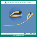ISO descartável médico do Ce do cateter de Foley do látex da maneira 2 Way/3 aprovado