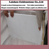 よの中国の磨かれた雪の白い大理石の平板