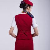 2016 uniformes delgados profesionales de la azafata de la línea aérea de las mujeres al por mayor