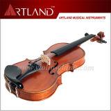 Spitzenverkaufs-Ebenholz, das festes Holz-Kursteilnehmer-Violine (GV104H, befestigt)