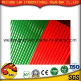 Feuille en caoutchouc de couvre-tapis de PVC de bonne qualité des couleurs antidérapage pour l'étage