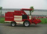 Maquinaria da colheita mecanizada do milho de três fileiras mini