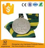 Médaille en métal de souvenir de 2017 coutumes avec la bande en rouge