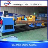 SGSstahl-CNC-Rohr-Plasma-Ausschnitt-Maschine für Wärmetauscher