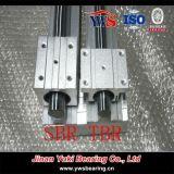 45# acero SBR25luu para los ejes del cojinete verticales SBR25