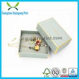 Boîte-cadeau en cuir de carte de mariage de cadre de bijou de mariage pour le bijou