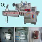 Máquina de embalagem horizontal da bolha da tabuleta médica do fluxo do saco automático do descanso do envoltório do bloco