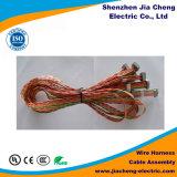 Водоустойчивая проводка провода разъема света прессформы с пробкой втулки PVC