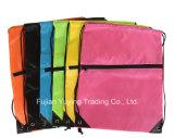 цветастый Nylon Backpack мешка Drawstring 210d с изготовленный на заказ печатание