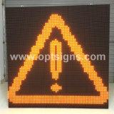 Pólo montou o sinal variável Vms da mensagem da estrada do diodo emissor de luz, o sinal variável montado pórtico Vms da mensagem da estrada do diodo emissor de luz