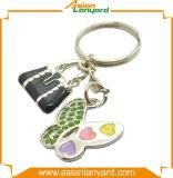 Metall Keychains mit Firmenzeichen auf beiden Seiten