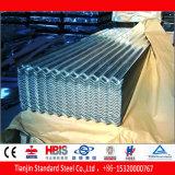 Chapa de aço galvanizada ondulada Dx52D, Dx53D, Dx54D, Dx55D