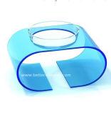 Alimentateur d'animaux acryliques pour chien-chien Btr-S1023