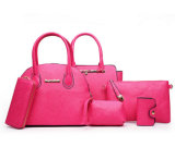 Damen Handtasche und Sets der Fonds-Schulter-Bags+Crossbody Bags+Wallet+Purse 6