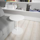 Uispair modernes rundes einfaches Büro-Hotel-lebender Esszimmer-Schlafzimmer-Hauptkaffeetisch